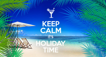 TGIF – August, 21 2015 – Keep Calm, it's holiday time!